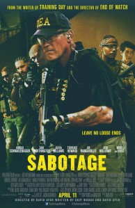 Sabotage Film Poster