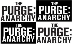 The Purge Black and White