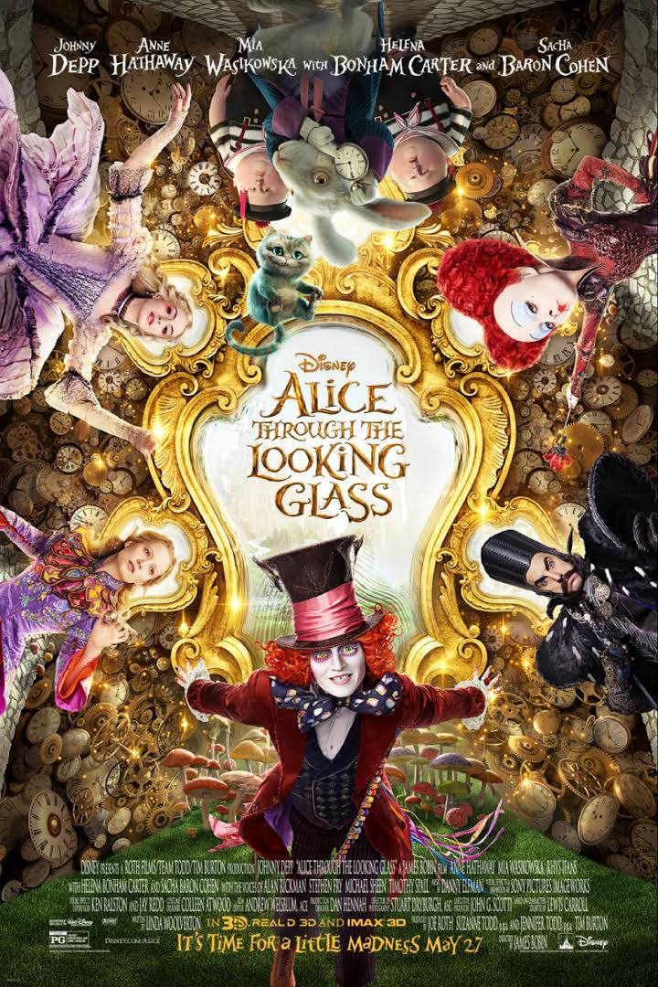 Alice Through the Looking Glass film poster